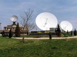 Az űrtávközlési földi állomás