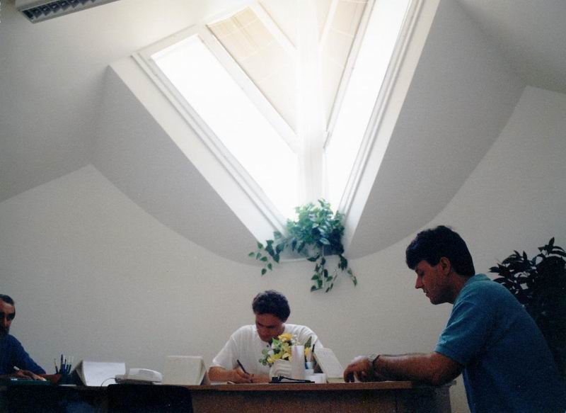 Tetőtéri iroda