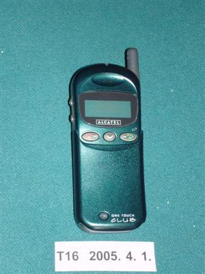 Alcatel Club mobiltelefon Leltári szám T