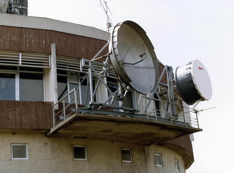 Mikrohullámú antennák az ÜFA-Győr összek
