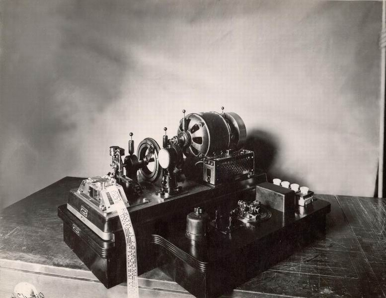 Különféle távírógépek