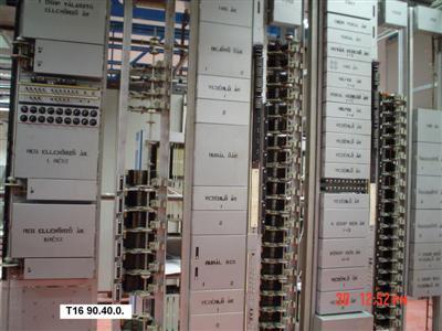 7DU rotary távbeszélő központ Leltári sz
