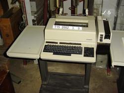 Távgépírók - Siemens T1000 Leltári szám