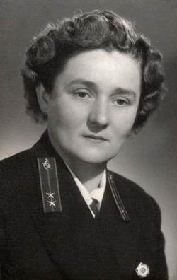 Vadas Károlyné kezelő, Budapest 1953