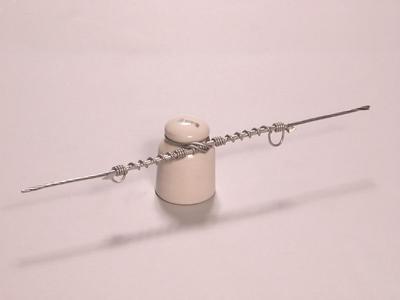 7x1,35 mm-es sodral egyenes lekötése