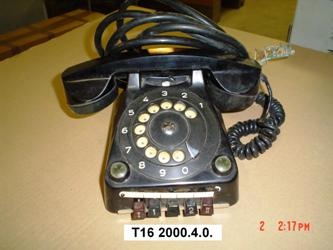 CB 55 típusú telefonkészülék Leltári szá