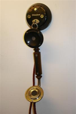 Házitelefon (cselédtelefon) Leltári szám