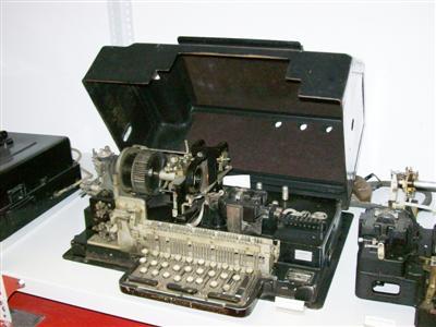 Távgépírók - Creed 3A Leltári szám T15 8