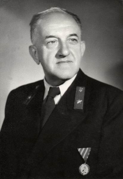 Ladányi Ferenc főcsoportvezető, Budapest