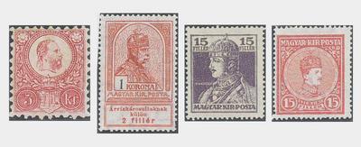 I. Ferenc József császárt és IV