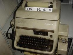Távgépírók - Siemens T100 Leltári szám T