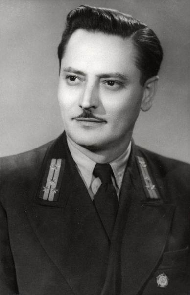 Biró Imre üzemvezető, Keszthely 1955