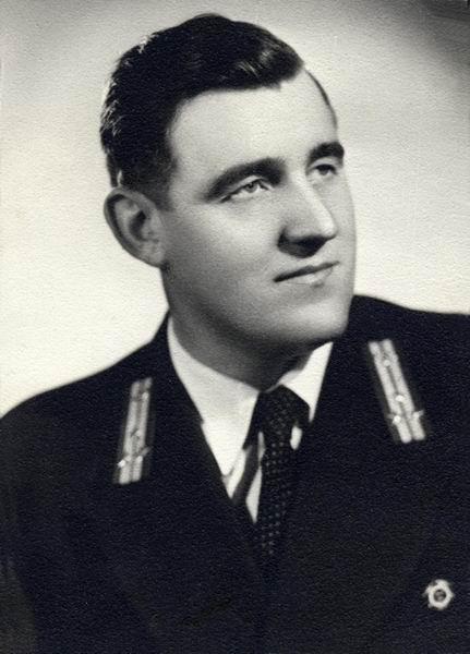 Baumstark Pál üzemvezető, Szolnok 1955