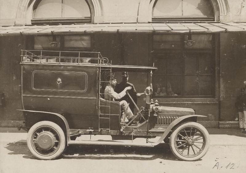 Mercedes-Mars-Daimler típusú postaközvet