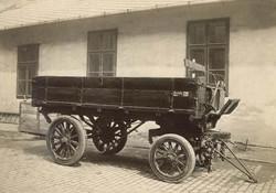 3 tonnás Saurer típusú pótkocsi