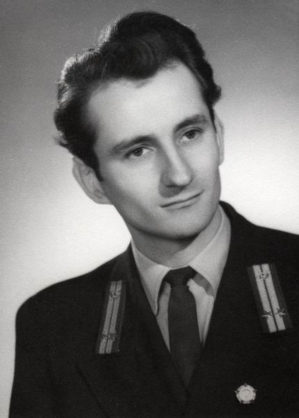 Béres Sándor főcsoportvezető, Eger 1954.