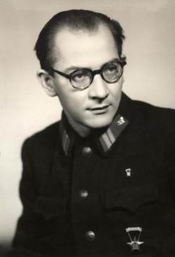 Lévai János gépész, Mátészalka 1955