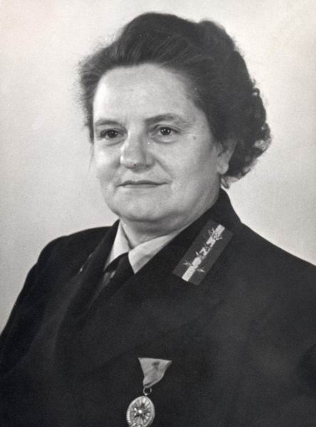 Bán Imréné osztályvezető, Budapest 1952.