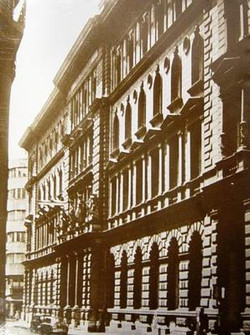 A Belváros távbeszélő főközpont épülete.