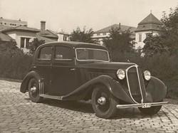 Benz típusú személygépkocsi járműtelepi