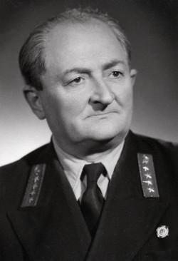 Dénes János üzemvezető, Szeged 1954