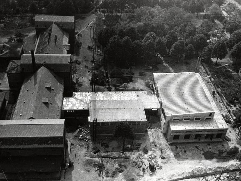 A régi és az új épületek