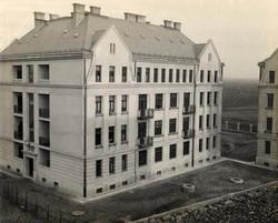 Posta Központi Járműtelep Lakóépület