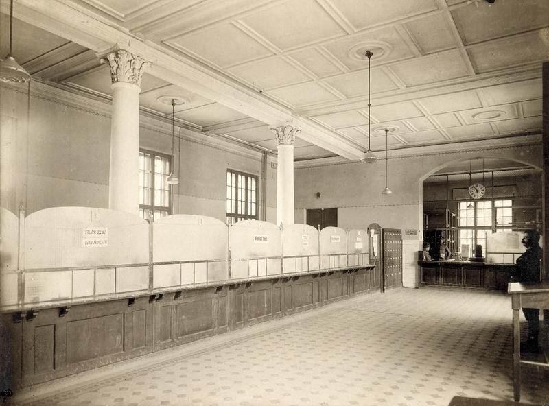 Salgótarjáni postaház Közönségtér
