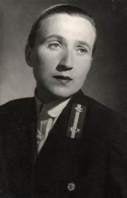 Grábics Mária kezelő, Budapest 1953
