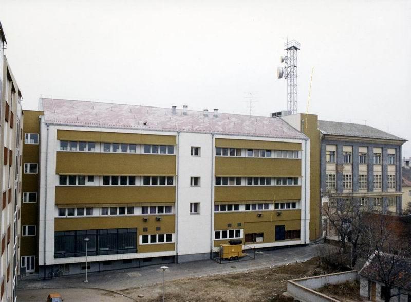 Szombathelyi postaműszaki épület