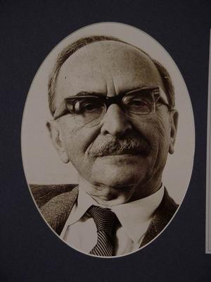 Gábor Dénes portréja