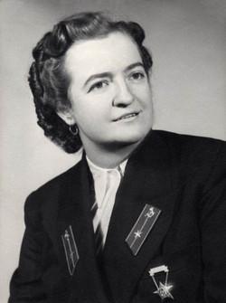 Tamási Károlyné kezelő, Budapest 1954
