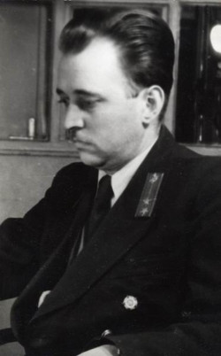 Zakár Ferenc gócvezető, Veszprém 1955