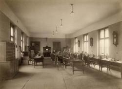 Nagykanizsai postaház Távírógépterem