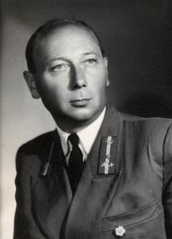 Hima Tibor csoportvezető, Budapest 1954.