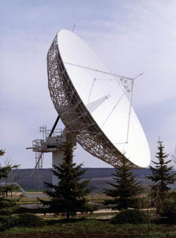 Intelsat IOR antenna