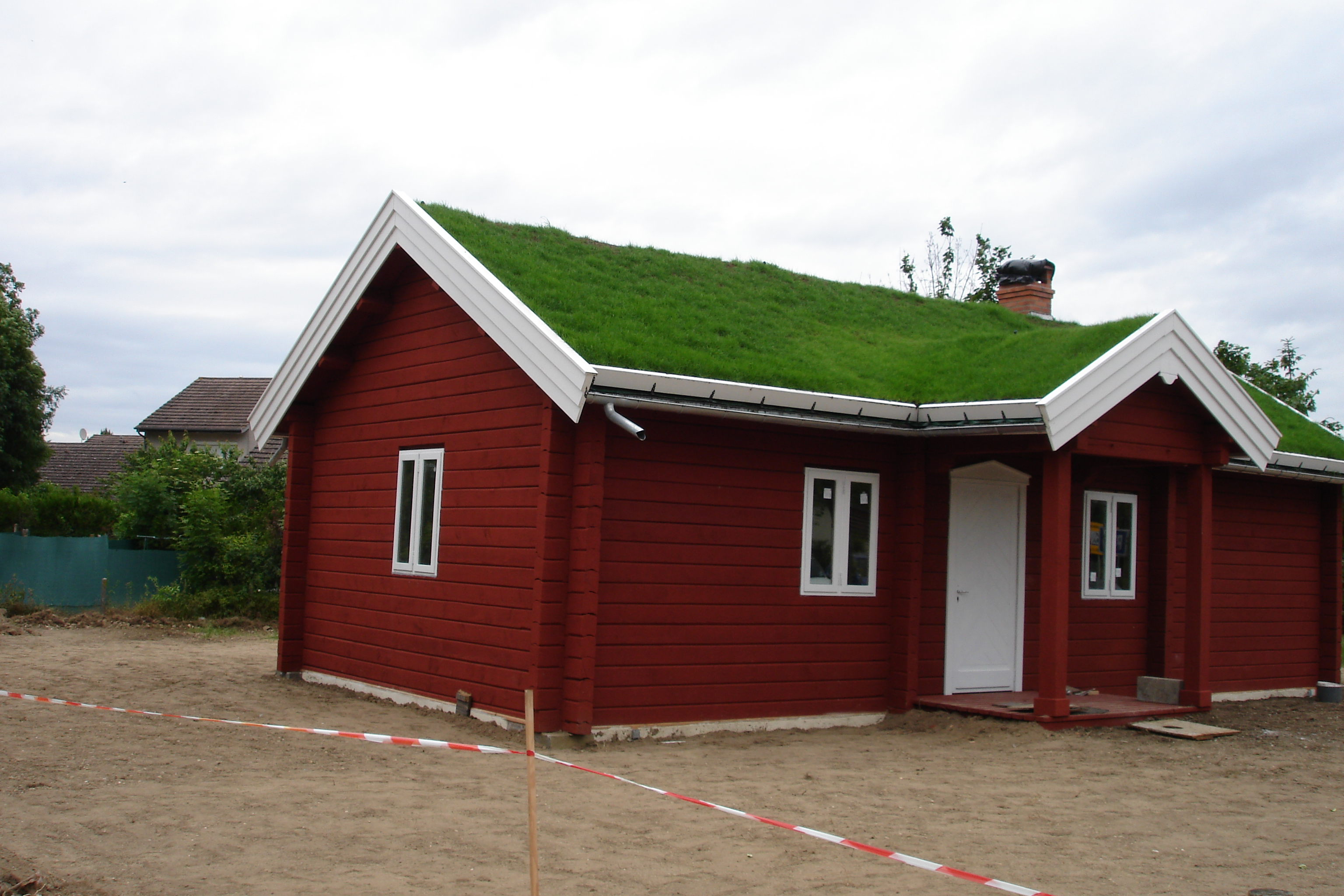 Construire la Maison de la Suède
