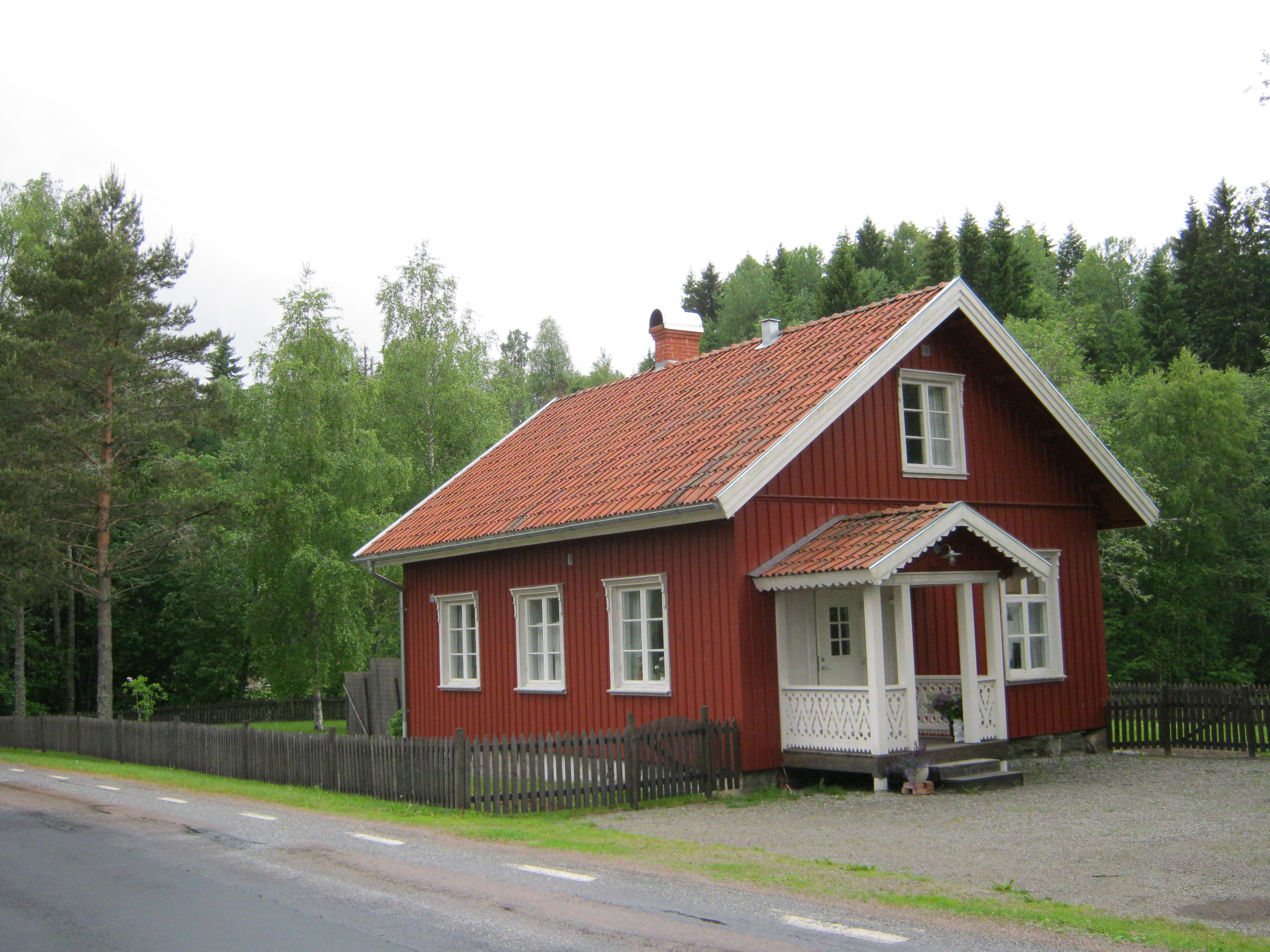 Une maison rouge de Dals Ed