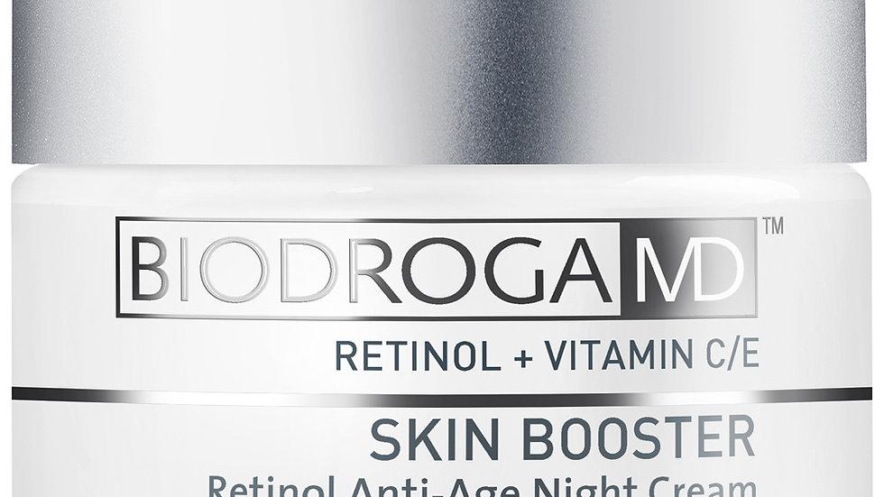 retinol anti-age nachtcrème + lacto glucan intensieve liftende masker