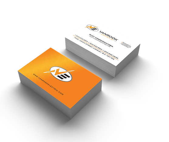 Print and graphic design richmond western print media business card sample reheart Images