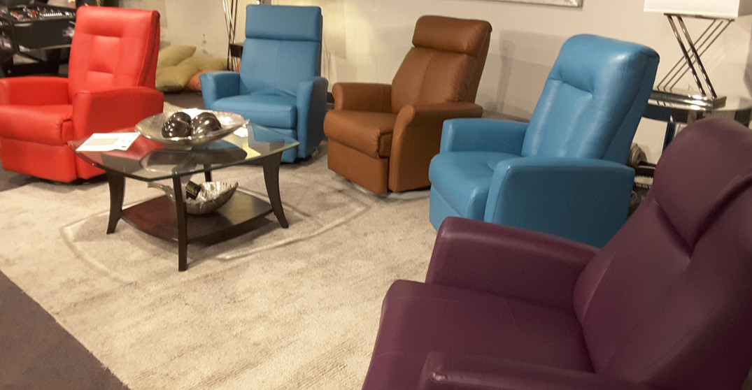 Recliners, Sectionals & Theatre Groupings