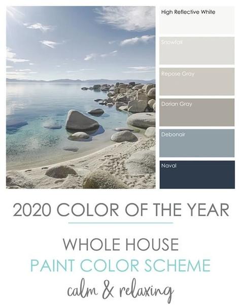 Paint Colours & Decorating Theme