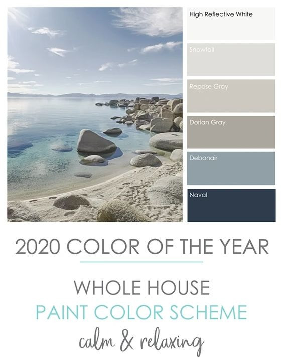 Paint Colours & Decorating Theme