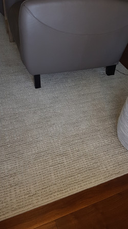 Custom Area Rug made to the perfect size for the room