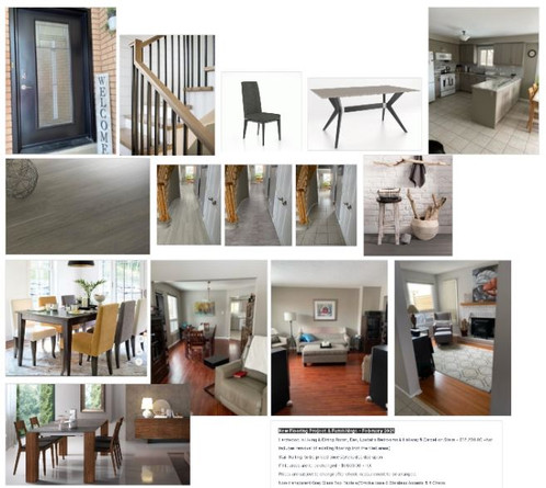 Moodboard for New Flooring & Furniture