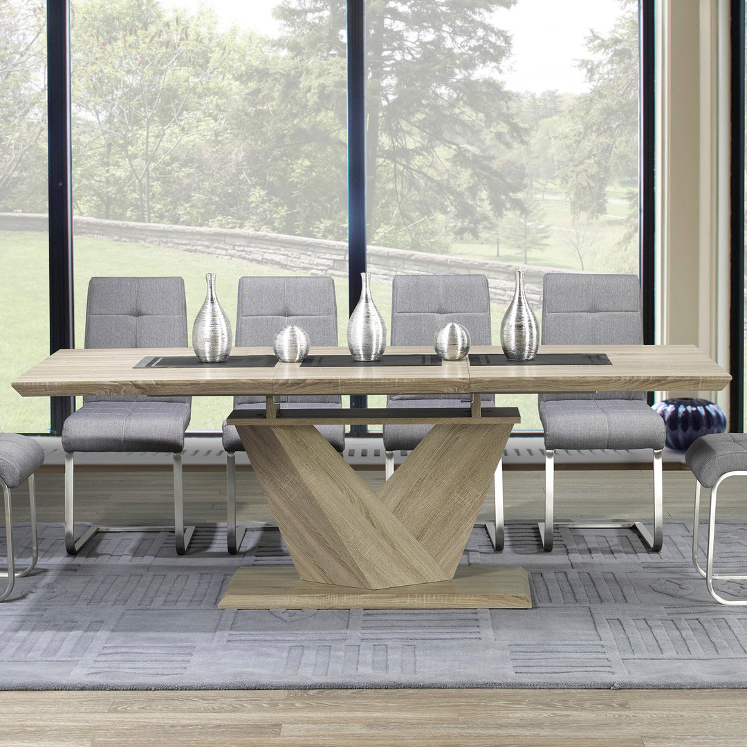 Extension Dining Table & Chairs