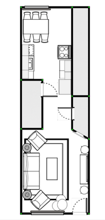 Updated Furniture Layout