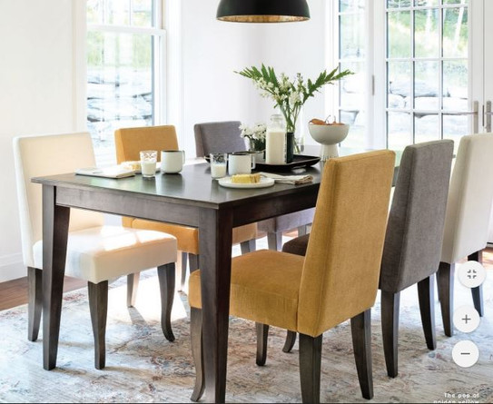 Canadel Solid Maple Wood Table
