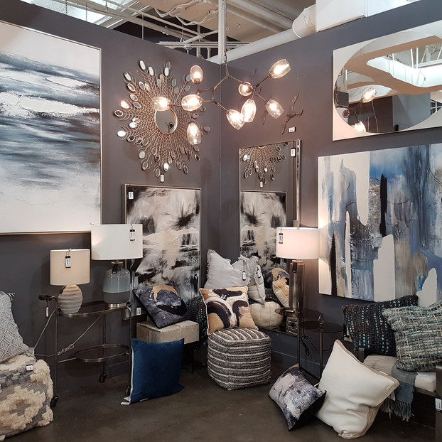 Contemporary Art, Lamps & Decor