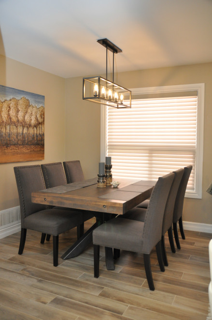 Ruff Sawn Dining Table & Chairs